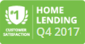 #1 Customer Satisfaction Home Lending Q4 2017